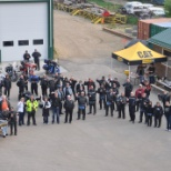 Finning Canada photo: Motorcycle Ride for United Way