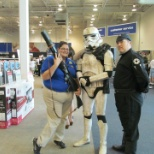 We had Star Wars day during the release of one of the movies. we had a blast with the customers.