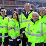 Global Security Stewarding Limited photo: Staff working at Sheffield Wednesday.