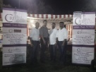 Booth held by CRU Real Estate group and associates.
