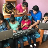Olympus Mexico donated 7 refurbished laptops to a local family in need.
