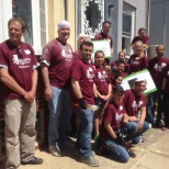 Resource Residential and Resource America volunteering with Rebuilding Together Philadelphia.