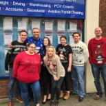 First Choice Staff photo: Christmas Jumper Day 2016