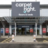 photo of Carpetright, Outside of the Dundee store