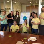 Avendra photo: Our CA Office team celebrating Earth Day!