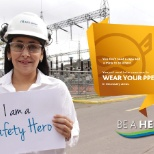 AES Corporation photo: Be a Safety Hero