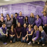 International Women's day 2015 - Painted Purple