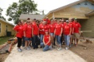 Sabre employees give back at a Habitat for Humanity even.