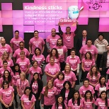 Shaw Communications photo: #PinkShirtPromise '17 campaign helped raise more than $750,000 for bullying prevention programs.