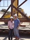 Helping on location with managing a project building a 1500 hp drilling rig.