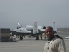 On flight line doing a security accessment