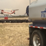 Providing assistance to help fight fires in Laveta, CO 2018