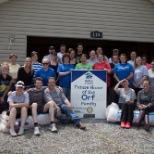 MTM volunteers with Habitat for Humanity