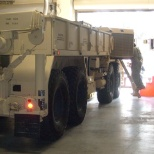 preventive maintenance checks and services on 10 ton Oshkosh Heavy Expanded Mobility Tactical Truck