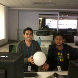 MphasiS photo: with my buddy