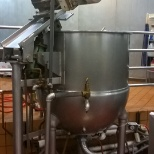 300 gal steam pot for making soup