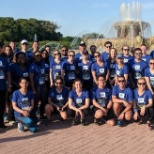 R1 associates at the J.P. Morgan Corporate Challenge.