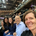 Members of our leadership team had an awesome time at the basketball game in Denver. #LifewithWU.