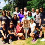 Recruiting Team helps clean up local trails in Kalamazoo, MI!