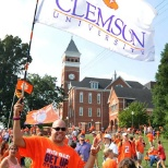 Clemson pride on Bowman Field!