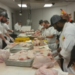 Rivers Casino photo: Our chefs preparing over 200 turkeys for Thanksgiving. WOW!