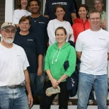 Progress photo: Progress employees dedicate their time to Habitat for Humanity.