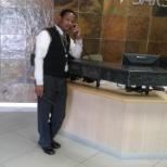 Making a call to the debt management team that is based at first floor.