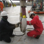 inspection on crane hook ( mpi)
