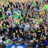 Symetra Employees love the Seahawks!