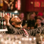 Matt Cotta competign at UK Best Bartender Final! #passion #pride #personality