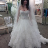 Training Day @ David's Bridal; had to understand how much work and stress it is for the bride.