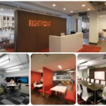 Rightpoint photo: Rightpoint's new space at 29 N Wacker in the Loop!