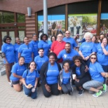 Adventist HealthCare photo: Behavioral Health & Wellness Services sponsored the Out of the Darkness Walk