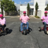 "Our Execs ""Racing for the Cure"" during Breast Cancer Awareness Month #UACCares"