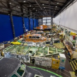 RNLI photo: Production of the Shannon class lifeboat