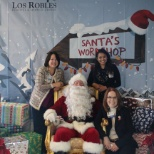 Special visit from Santa at Los Robles