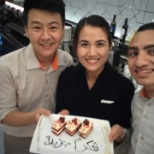 Four Seasons photo: celebrate our workmate birthday