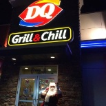 Dairy Queen photo: Santa was here!