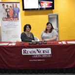 Check out our RI Staffing Manager Brenda & Area Manager Jennifer tabling at Dunkin' Donuts Center!