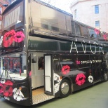 Avon Bus currently touring great Britain
