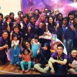 HP photo: Our office hosted 300 children during the Take Our Children to Work event in Malaysia
