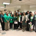 Presbyterian/St. Luke's Medical Center photo: St. Patrick's Day fun at PSL!