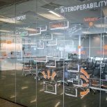 Cerner Corporation photo: Collaborative workspaces