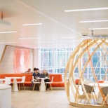 photo de AXA, Informal spaces on every floor