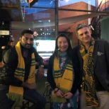 Accenture photo: During Bledisloe cup 2018