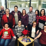 Wrapping up a stellar year - flannel and flames Friday!