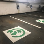 Charging Stations are here! Our Etobicoke parking garage has 4 new charging stations for electric an