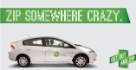 Zipcar Promo Image from the homepage of the company's website.