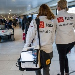 Falck nurses in CPH Airport