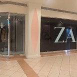Its a picture for zara branch at al marina mall